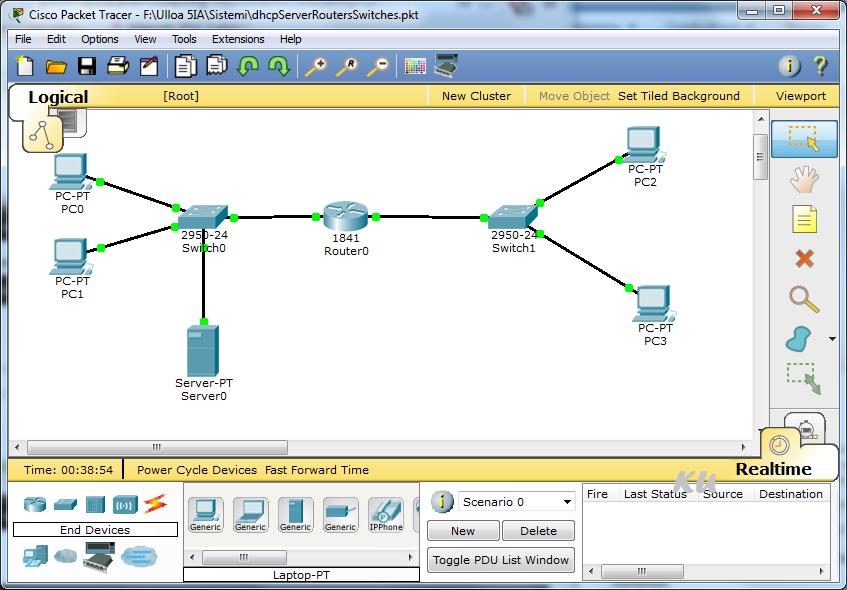 DHCP Server Configurato
