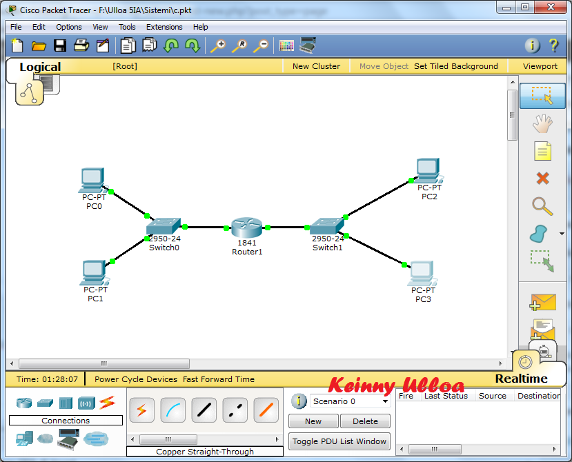 DHCP Router Configurato